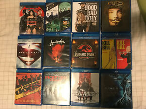 Blu-Ray Movies ($10 each, $20 for 3)