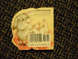 Fuzzytail Bunny (A Chunky Shape Book) Board book Kingston Kingston Area image 2