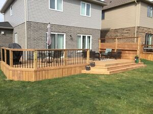 Fences Decks Pergola Stratford Kitchener Area image 4