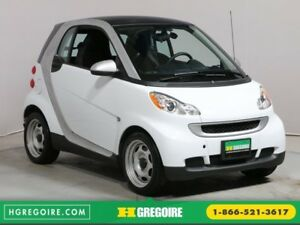 2012 Smart Fortwo Pure AUTO A/C CUIR