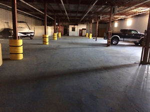 10,000sqft warehouse available for lease