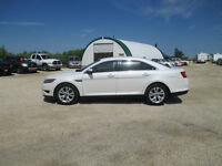 2012 Ford Taurus SEL Pearl White Lthr SYNC Low Kms