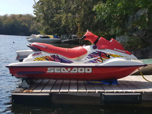 1997 Sea Doo GSX (With Northtrail trailer)