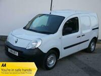 61 RENAULT KANGOO ML19 1.5DCI TURBO DIESEL WHITE PANEL VAN STUNNING NEW MOT
