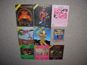 Advanced Dungeons and Dragons Vintage Manuals etc.