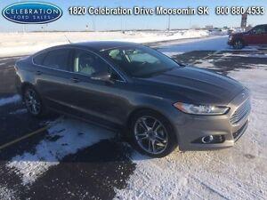 2013 Ford Fusion Titanium  ALL WHEEL DRIVE Regina Regina Area image 3