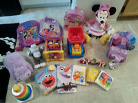 Large lot of baby and toddler toys $30/LOT