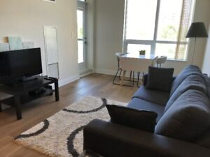 1+1 condo unit for rent(parking for extra) in downtown Markham