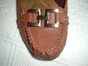 Ladies airstep loafers with electra ornament