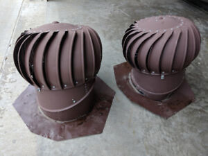 Two Whirlybirds (Turbine Vents)