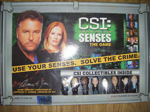Collectible CSI game for sale
