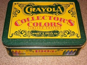 Crayola Collector's Club Limited Edition w/64+8 Retired Crayons