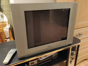 """TV 20"""" with remote"""