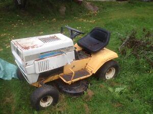 Cub cadet lawn tractor no motor $100
