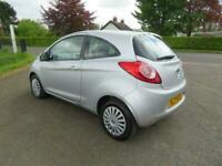 2009 FORD KA 1.2 STYLE 3DR ONLY 68000 MILES MOT JUNE 2022 £30 TAX FIESTA CLIO