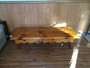 Solid 1 of a kind pine table