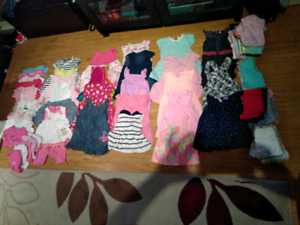 18m and 12m-18m girls summer clothes clothing