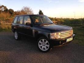 2004 Land Rover Range Rover Vogue 3.0 Td6 Black