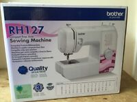 BROTHER RH127 SEWING MACHINE BRAND NEW