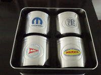 Mopar 75th Anniversary Stainless Can Cooler Holders
