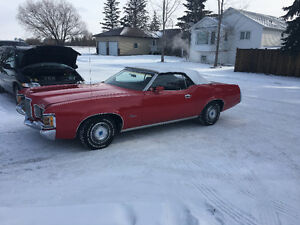 1972 Mercury Cougar convertible