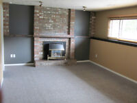 Bright, private level entry,  lower suite 2 bed room