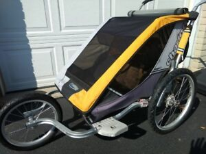 Thule Chariot Cougar Double Jogging Stroller and Bike Trailer