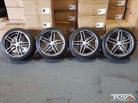 """18"""" Staggered XTK CD002 Alloy Wheels will fit a Mercedes C-Class"""