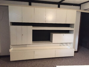 Shelving unit with tons of storage space