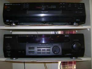 Kenwood stereo and Sony Speakers