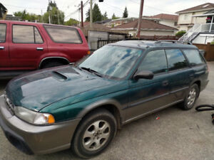 Only 118,000kms! 1999 Subaru Legacy Outback Limited Wagon AWD