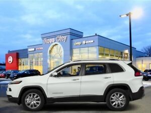 2017 Jeep Cherokee Limited  - Leather Seats -  Bluetooth