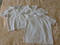 Boys school uniform tops & trousers bundle age 6-7 years