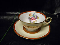 NORITAKE M TEA CUP AND SAUCER(BOX40)
