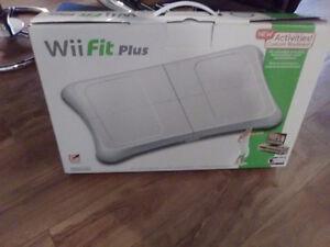Wii fit board plus