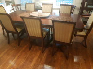 Dining Room Set - Buffet and Hutch, Dining Table and Chairs