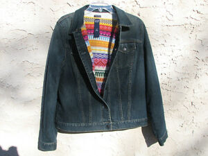 "Fleece Lined Denim Jacket "" BRAND NEW """