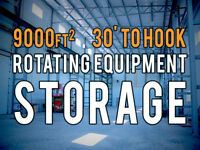 Rotating Equipment Storage For Lease!