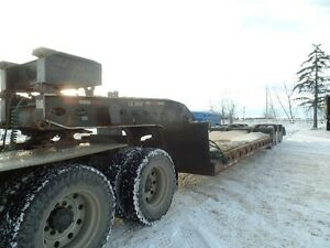 1992 PEERLESS HYDRAULIC DETACH D/DROP LOWBOY AT www.knullent.com