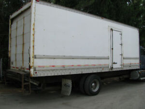 26' Van body good shape to use or for storage purposes
