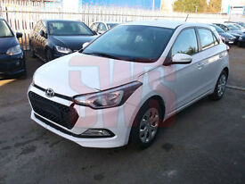 2015 Hyundai i20 1.2 Blue Drive S Air DAMAGED REPAIRABLE SALVAGE