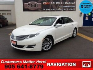 2015 Lincoln MKZ Base  NAV ROOF COOLED-SEATS PWR-TRUNK HS P/SEAT