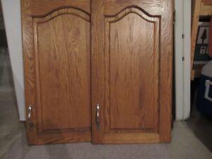 Solid Oak Cabinet Doors