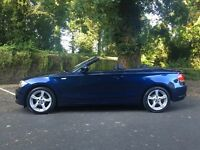2011 BMW 1 Series 118d Convertible **LOW MILES** DIESEL COUPE