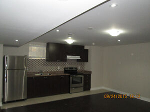 Brand new basement available for rent in Brampton
