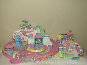 FOR SALE 2 SETS OF 1994 BLUEBIRD FUN PARK 1BIG W/FIGURES & OTHER