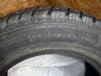 Like NEW Studded Snow tires