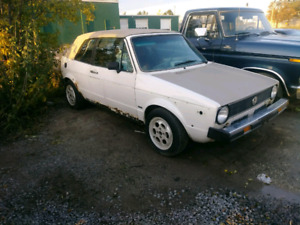For sale or parts 82 vw rabbit convertible