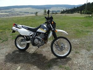 2015 SUZUKI DR650 DUAL PURPOSE BIKE