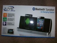 ILive Bluetooth Speaker and Charging Station